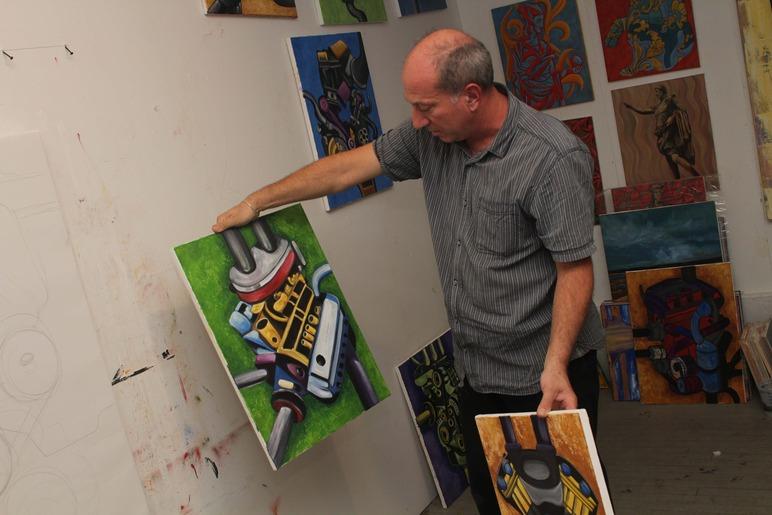 Brian Delacey Studio Visit 4