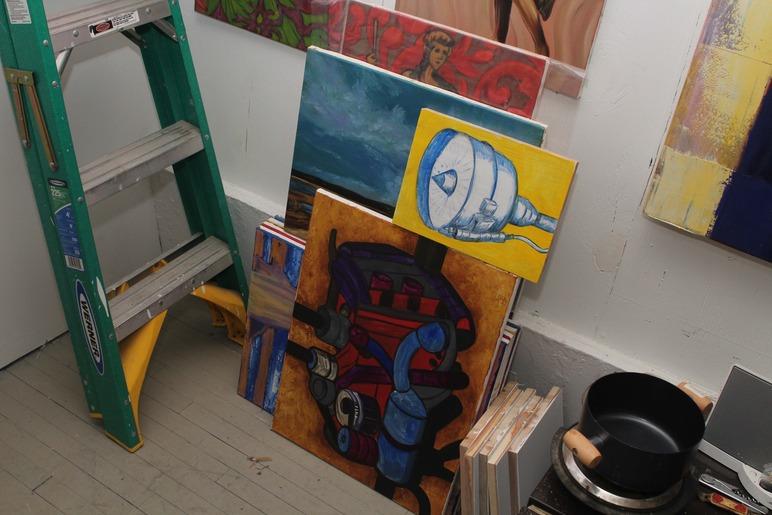 Brian Delacey Studio Visit 15