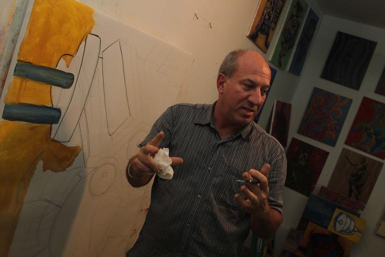 Brian Delacey Studio Visit 23
