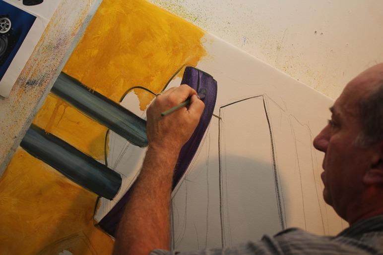 Brian Delacey Studio Visit 28