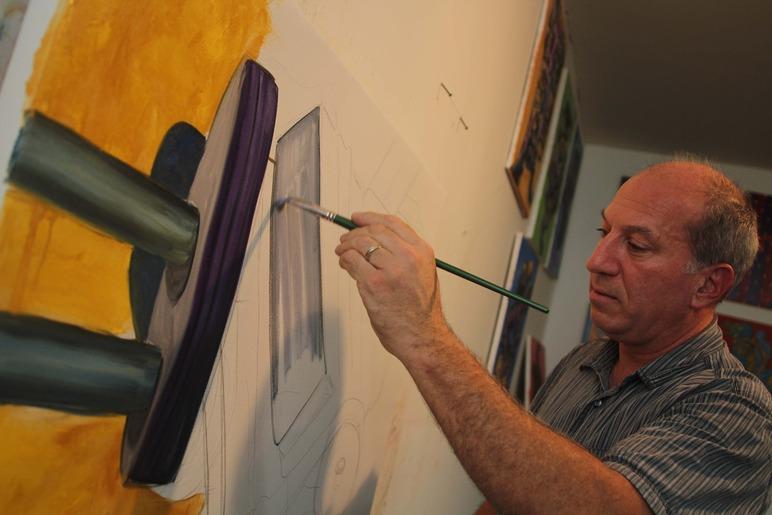 Brian Delacey Studio Visit 30