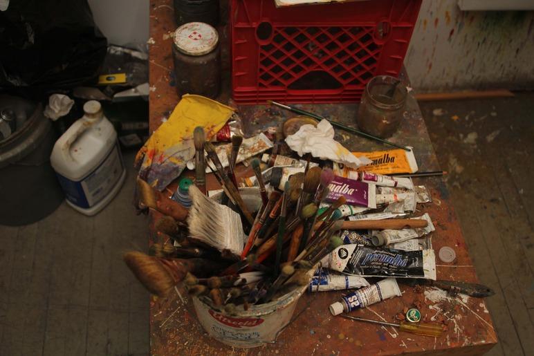 Brian Delacey Studio Visit 31